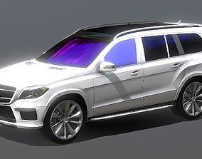 Mercedes GL 550 3D Model VR AR Ready low-poly