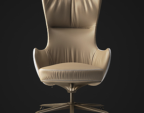 3D model Work chair Giorgetti Genius