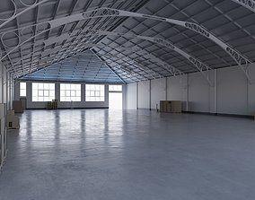 3D model game-ready Warehouse Interior 7