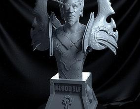 Blood Elf Fanart From World of Warcraft 3D print model