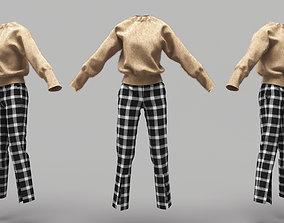 3D model Female Clothing 10
