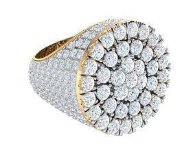 3D printable model Big Mens Ring gold-ring