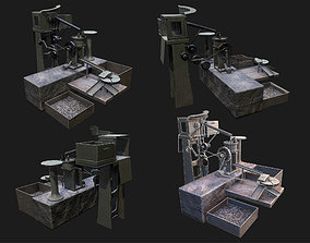 3D model AMMO Making Machine WWII