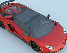 2016 Lamborghini Aventador LP750-4 SV Roadster 3D model