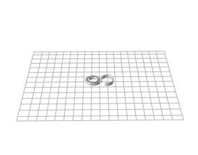 Curtain ring 3D print model
