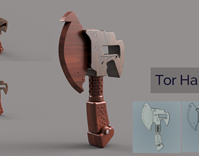 Tor Hammer 3D printable model tools
