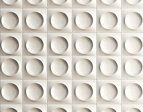 3d Gypsum wall Panels game-ready