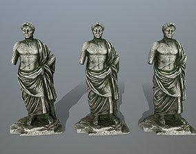 3D asset game-ready statue