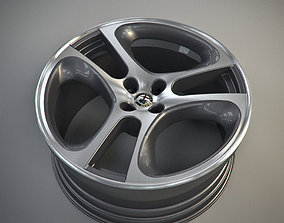 Alfa romeo mito wheel 3D model