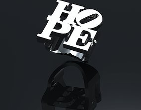 3D printable model Hope Ring