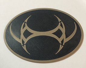 Stargate SG-1 Emblem of Baal Coaster 3D print model