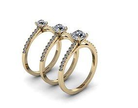 3D printable model Jewelry Rings NINE RINGS 011