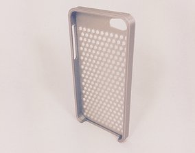 3D printable model Honeycomb iPhone 5S Case