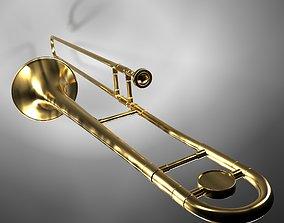 3D model Trumpet02