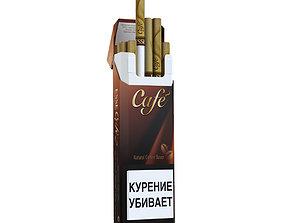 Cigarette Esse Cafe 3D asset