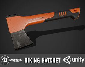 Hatchet 3D asset