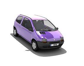 3D asset Renault Twingo I