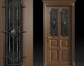 3D model Wood and Iron Doors