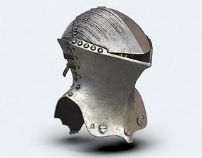 Joust Helm 3D asset