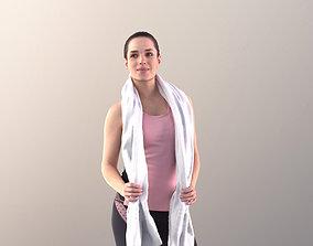 Juliette 10781 - Sport Girl with towel 3D model