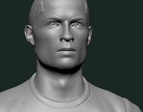 3D print model cristiano ronaldo CR7