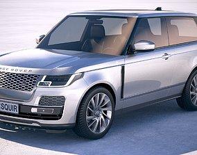 3D model Range Rover SV Coupe 2019