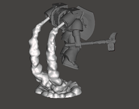 Assault Marine Exhaust Smoke Stands 3D print model