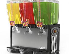 Refrigerated Beverage Dispenser 3D model