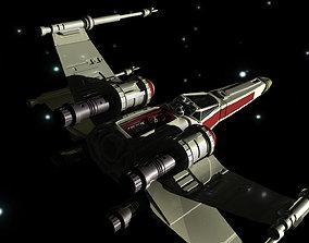 X-Wing 3D asset
