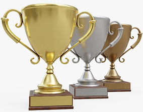Trophy Collection 3D model