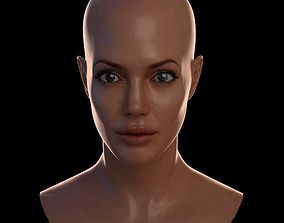 VR / AR ready 3d model Angelina Jolie max