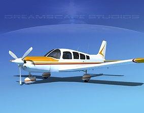 3D Piper Cherokee Six 300 V04
