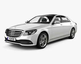 Mercedes-Benz S-class V222 2017 3D