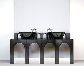3D visionnaire coliseum Washstand