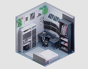 3D model room 20