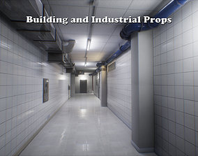 3D model Building and Industrial Props unreal asset