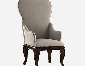 3D model Custom made antique dining chair