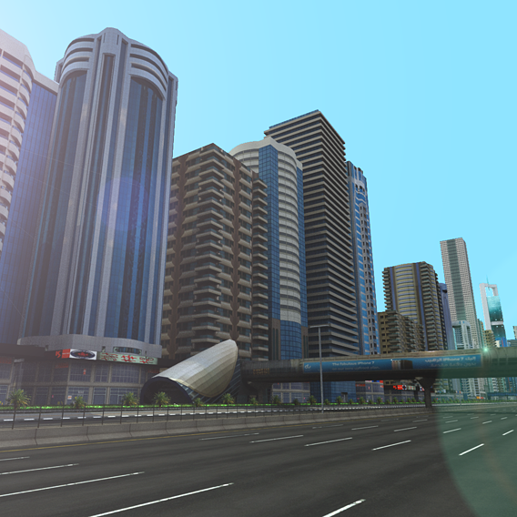 Dubai Towers Building Pack - Sheikh Zayed ST