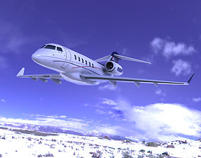 Bombardier Challenger 300 3D