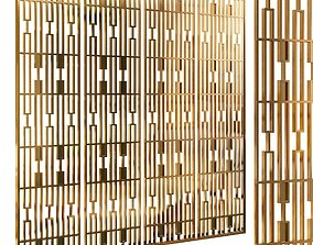 Decorative partition set 51 3D model