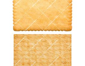 3D model Biscuit snack