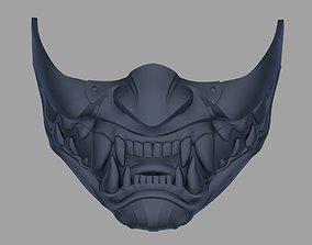 3D print model Kitana mask from Mortal Kombat 11