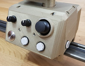 3D print model professional camera slider