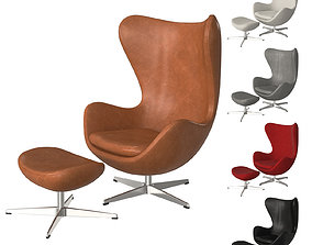 Fritz Hansen Egg Chair 3D