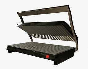 Toast Machine Low Poly PBR 3D asset