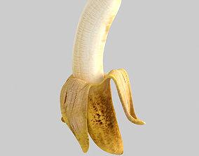 3D model game-ready Banana fruits