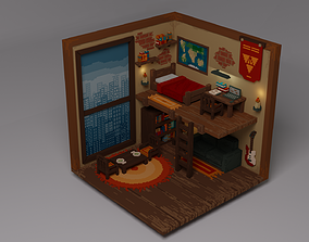 3D model Voxel room