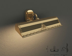 3D model Masiero 860 A2G wall lamp