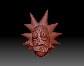 3D print model Head Rick