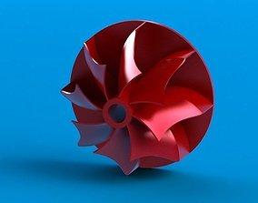 Turbo fan 3D model